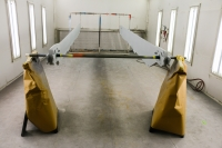 206 B Main Rotor Blades ready for Paint