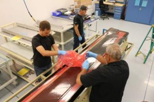 VHA Employees Layup 206 Main Rotor Blade