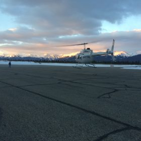 206L flight test in Leadville
